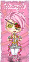 Chibi Paper Doll Commission by EmeraldAngelStudio