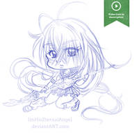 Sketch: Kan-u Unchou by EmeraldAngelStudio
