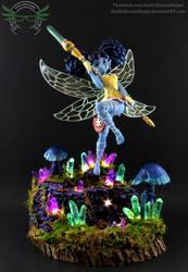 1/1 Custom Tiki from Dragons Crown Commission by EmeraldAngelStudio