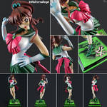 [Commission] 1/6 Super Sailor Jupiter Garage Kit