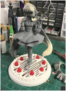 WIP Chii (with Custom Cake Base)