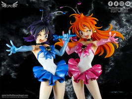 1/6 Lina and Amelia Garage Kit Commissions