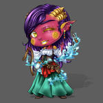 Chibi Commission by EmeraldAngelStudio