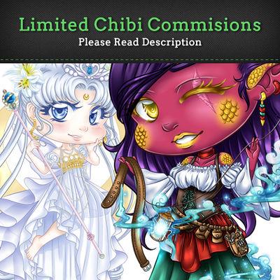 Limited Chibi Commissions by EmeraldAngelStudio