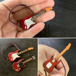 (WIP) Hand Made Fender Guitar for Nendoroid Custom