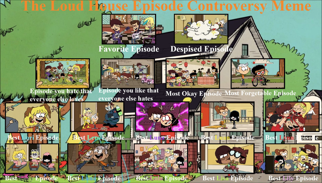 loud house garage banned watch cartoon