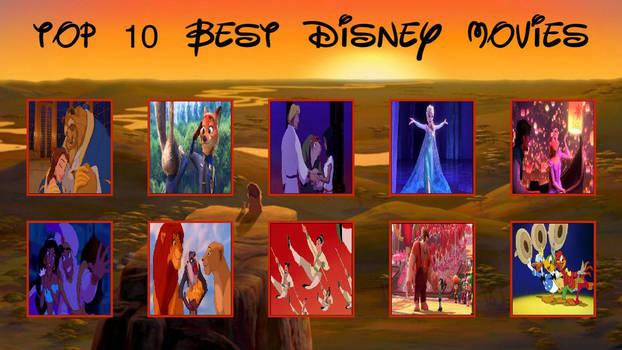 Top 10 Disney Animated Movies