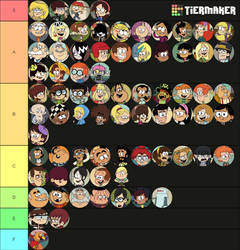 TLH and Casagrandes Characters Tier List