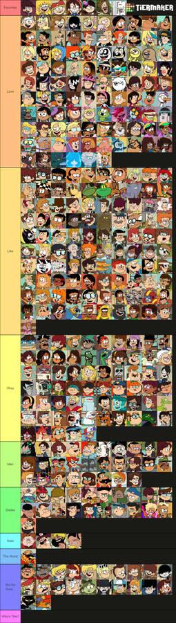 LoudCasa Character Tier List 2.0
