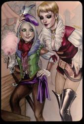 Ciri and Mistle