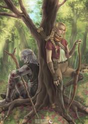Milva and Geralt of Rivia