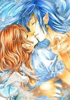 Final kiss by Kyoko-Taide