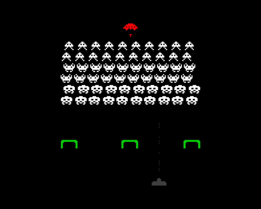 space invaders by Recode