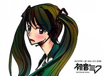 Hatsune Miku by Ayare-chan