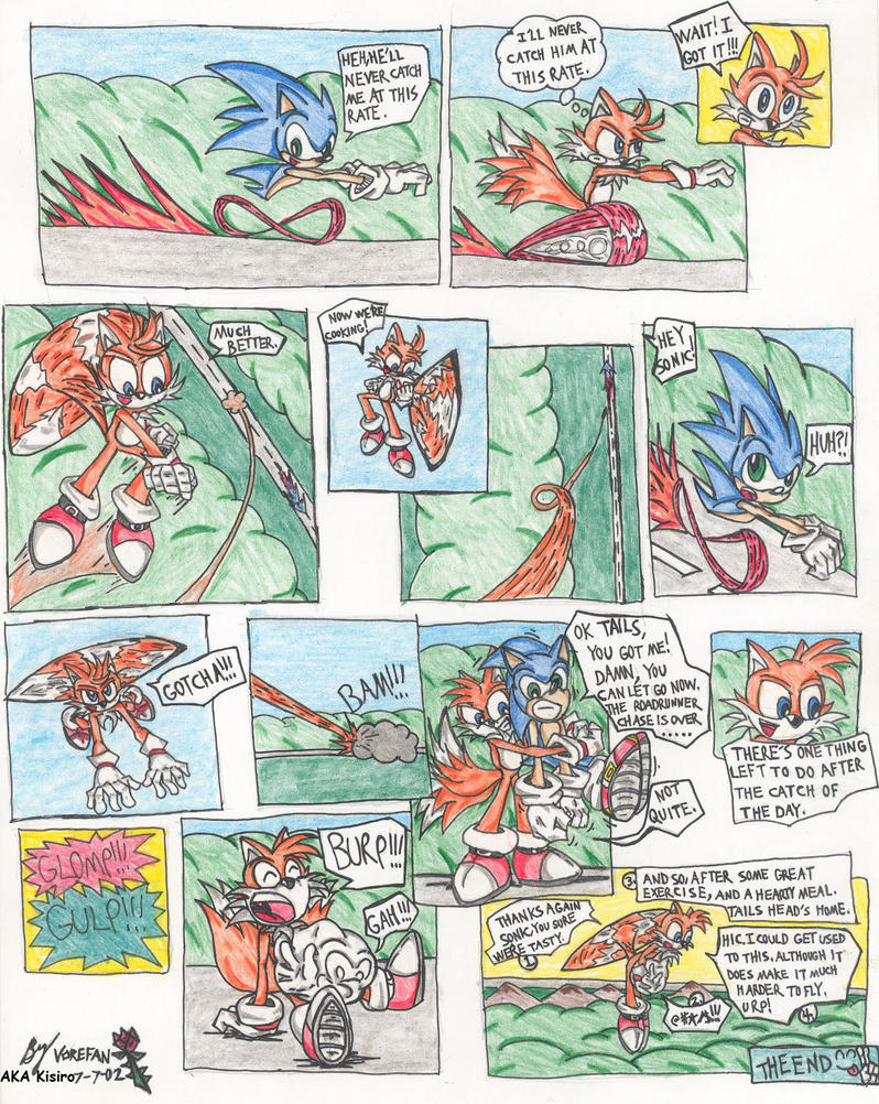 Tails and Sonic Chase Classic by KisiroBelmont on DeviantArt