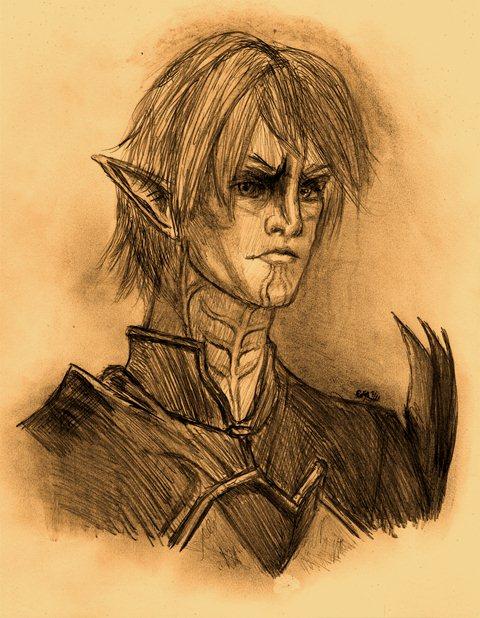 Dragon Age II: Fenris by dragonheart