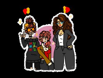 The 'Murdoc's GF Squad' (Gift??) by XxSomeHomestuckxX