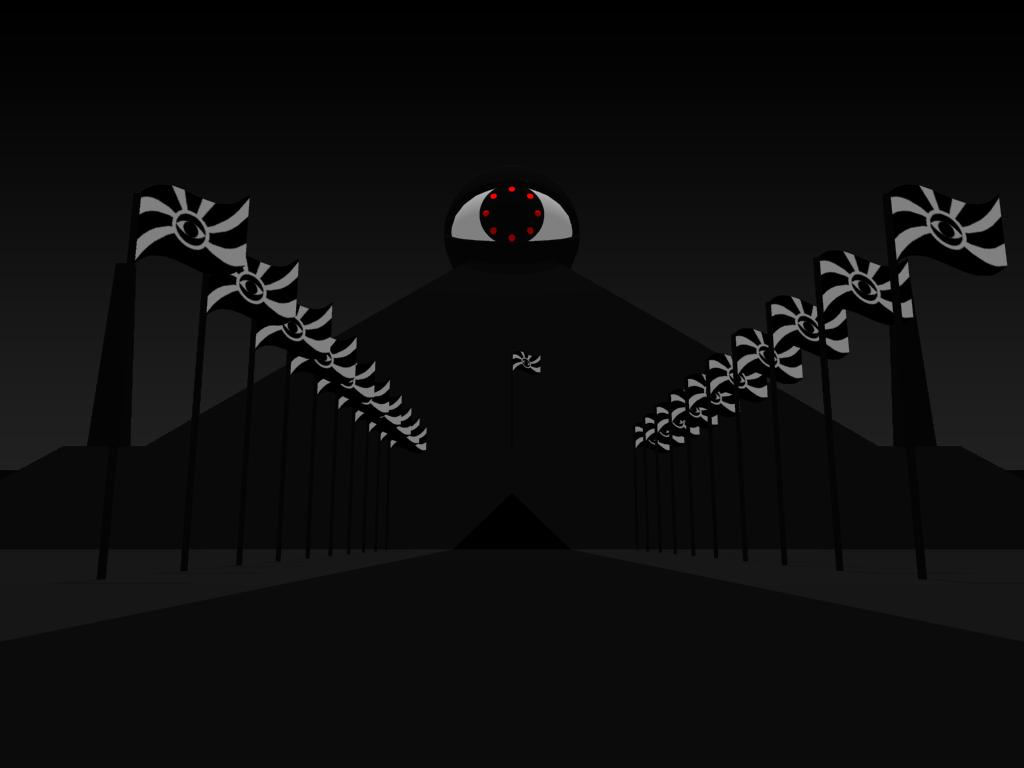 Demon Land Pyramid 2b by Adam by litemountain