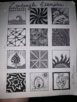 zentangle examples