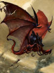 Tyranid Harpy Artwork