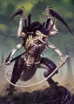 Tyranid Hive Tyrant Artwork