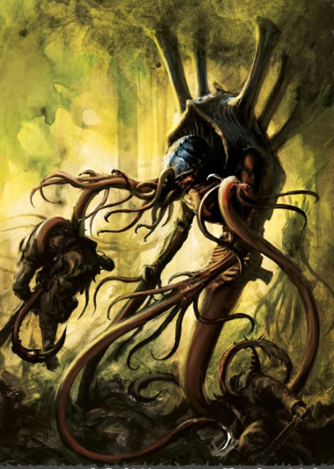 Tyranid Venomthrope Artwork