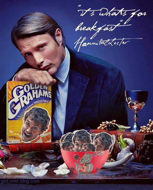 Hannibal prefers golden Grahams by ginL