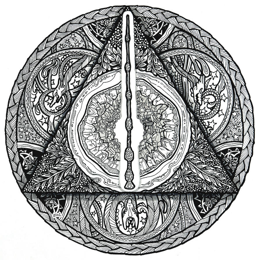 Deathly hallows by ginL