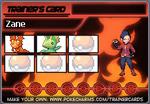 Ace Trainer Zane's Trainer Card