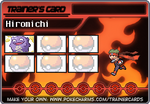 Ninja Boy Hiromichi's Trainer Card