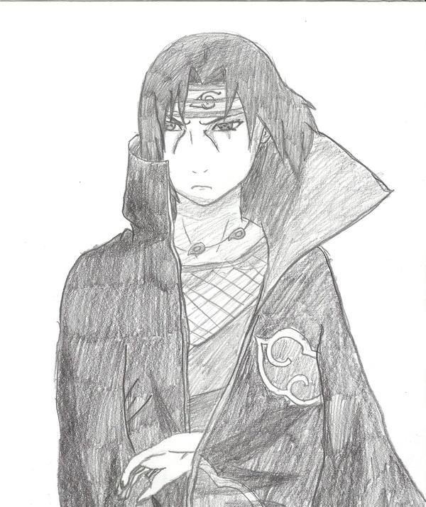 Itachi pencil drawing ...