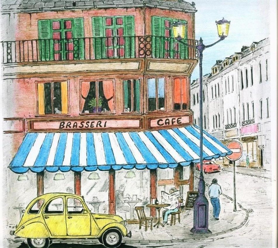 Cafe Paris Sketch