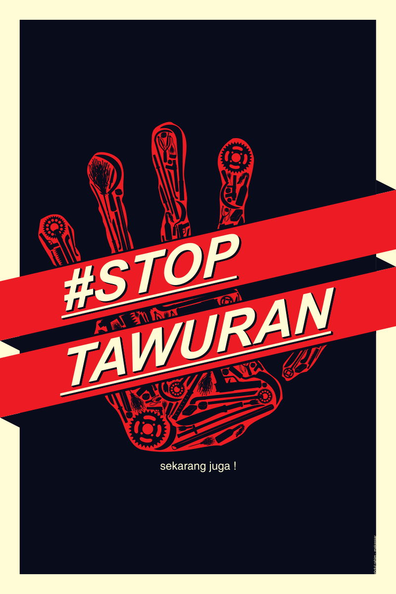 STOP TAWURAN! by abdulrahim-id