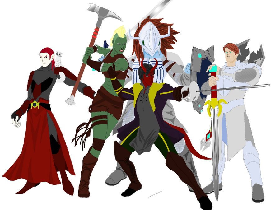 Heroes and Halfwits (unfinished) by rcreswell