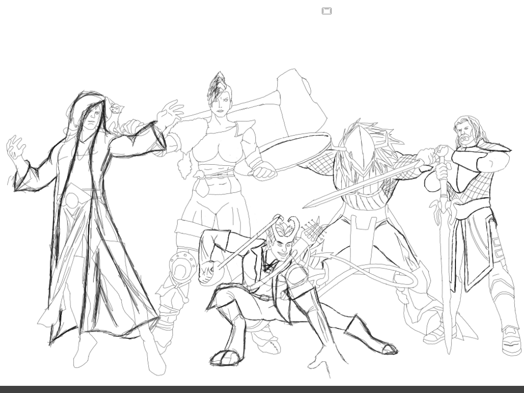 Heroes and Halfwits V2 WIP by rcreswell