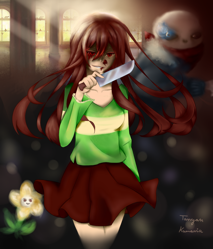 Undertale Chara As A Teenadult By Roztanczona-Kamaria On Deviantart-6651