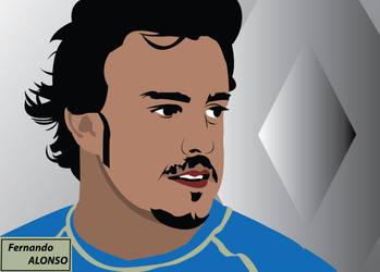 Fernando Alonso by console-master