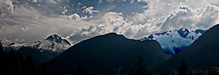 Glacier valley bc by Spinnfoto