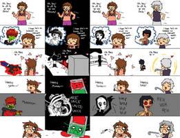 yume nikki is a shoujo manga by lal0nde