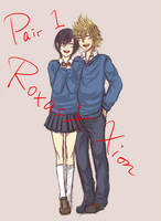 KH : Roxas X Xion by yoruven