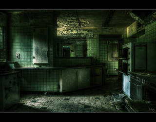 Post-Apocalyptic Kitchen by Nichofsky
