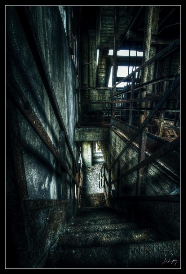 Metallic Stairs by Nichofsky