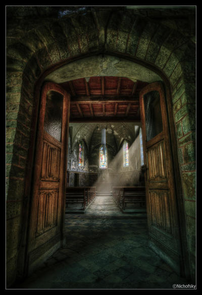 Divine Light by Nichofsky