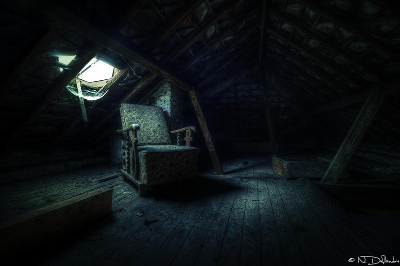 Dark Attic by Nichofsky