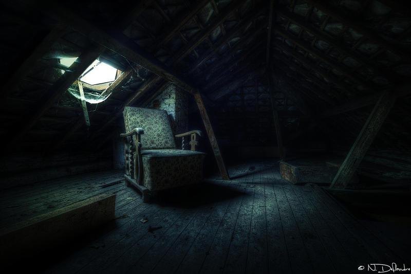 Dark Attic by Nichofsky
