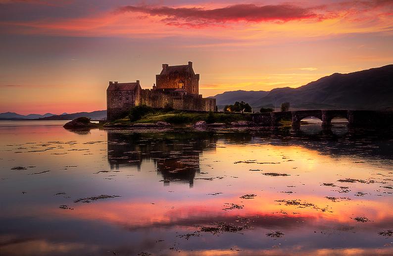 West Highlands Sunset by Nichofsky