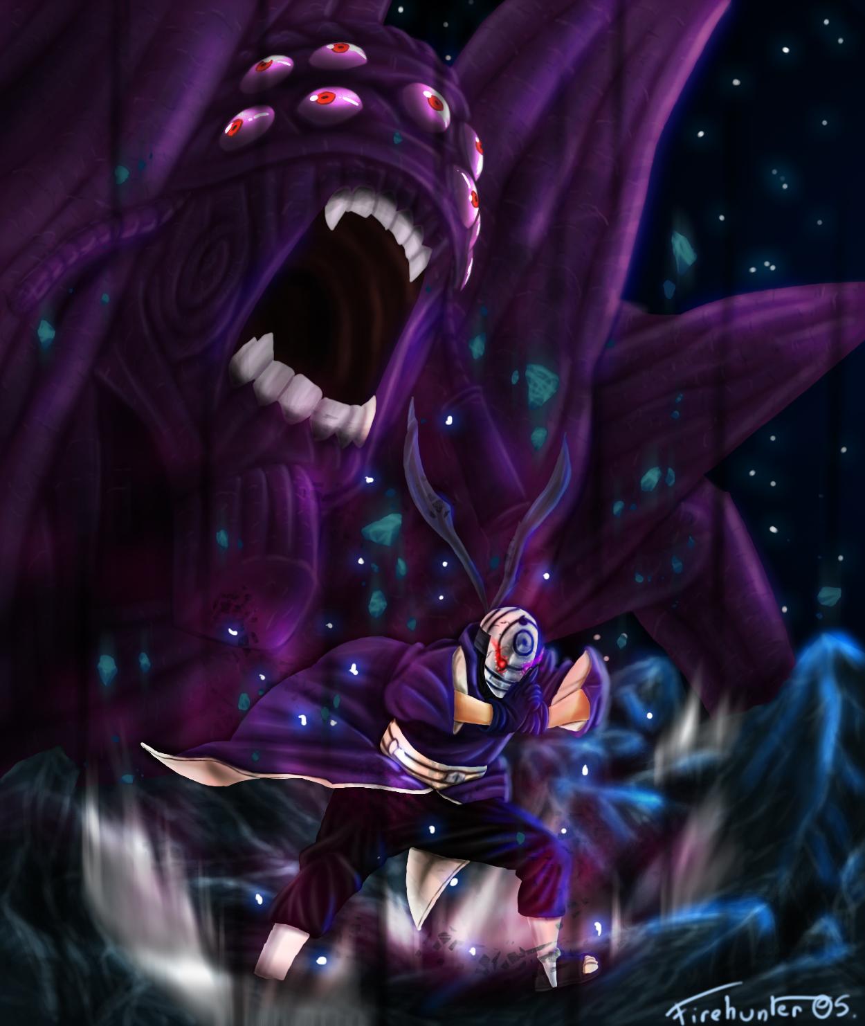 Naruto 592 - The power of Rinnegan by Sardoron