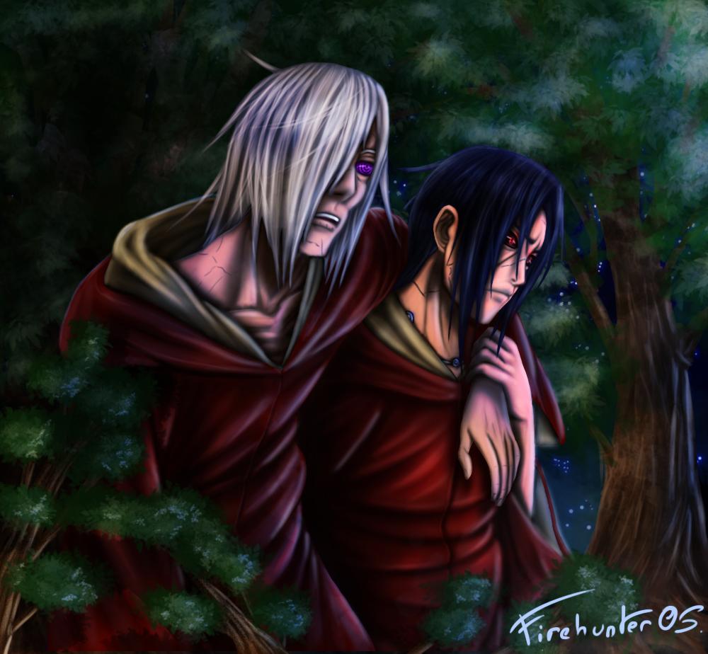 edo-Nagato and edo-Itachi. by Sardoron on DeviantArt