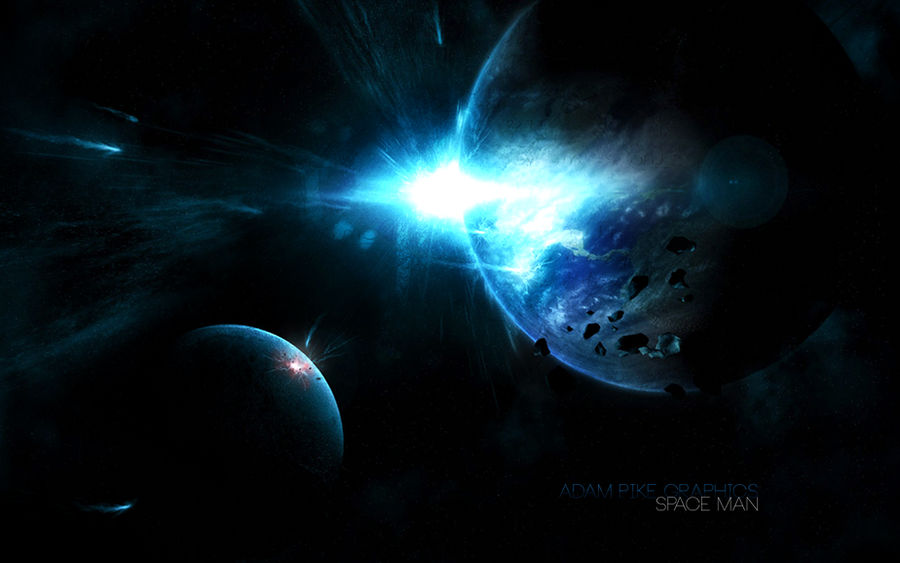 Spaceman Wallpaper By Humantage On Deviantart