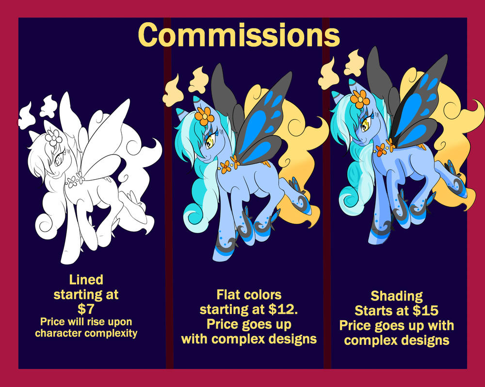 Commission Sheet by CoffeeVixxen
